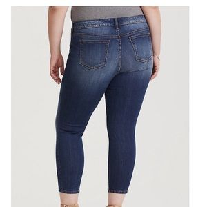 torrid Jeans - NWT TORRID CROP CLASSIC SKINNY JEAN TALL